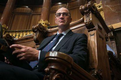 Antoni Vives, ex teniente de alcalde del Ayuntamiento de Barcelona.