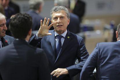Macri en la Cumbre de Seguridad Nuclear en Washington el pasado 1 de abril.