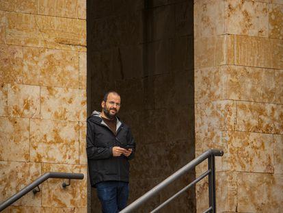 El profesor de Filosofía Iago Ramos, de la Universidad de Salamanca, ha colaborado junto a sus alumnos en el desarrollo de la aplicación de mensajería Signal