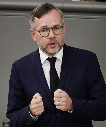 El secretario de Estado alemán de Asuntos Europeos, Michael Roth, en el Bundestag el pasado septiembre.