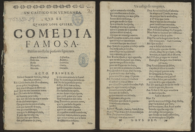 The first pages of the issue