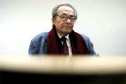 El pensador George Steiner.