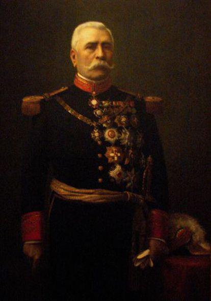El expresidente mexicano Porfirio Díaz.