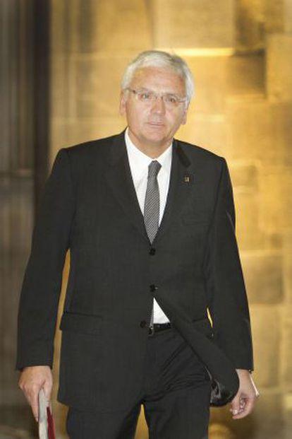 El consejero de Cultura, Ferran Mascarell.