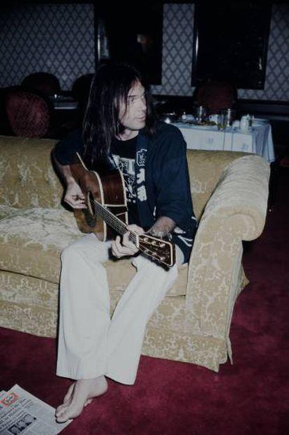 Neil Young en los años setenta. Un genio que alguna vez ha cogido cosas de otros genios.