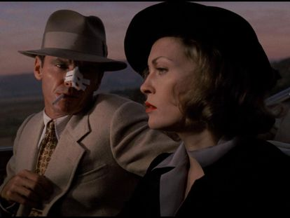 Jack Nicholson y Faye Dunaway, en 'Chinatown'.