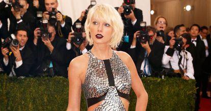 Taylor Swift el pasado mes de mayo en la Gala Met.