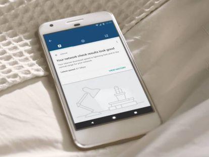 Aplicación para gestionar la red wifi doméstica.