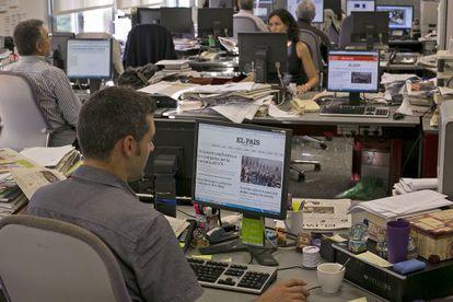 La redacción de Barcelona prepara la nueva edición digital en catalán, elpais.cat.