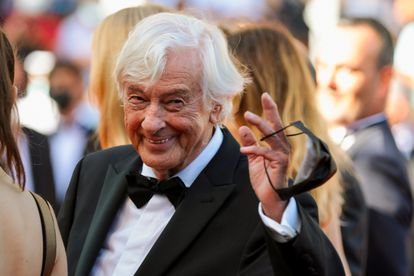 """The 74th Cannes Film Festival - Screening of the film """"Benedetta"""" in competition - Red Carpet Arrivals - Cannes, France, July 9, 2021. Director Paul Verhoeven poses. REUTERS/Reinhard Krause"""