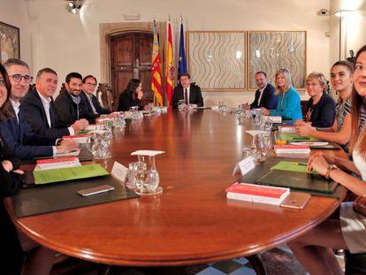 El primer pleno del Consell de la legislatura, donde se ha nombrado a buena parte del segundo escalón de la Generalitat.