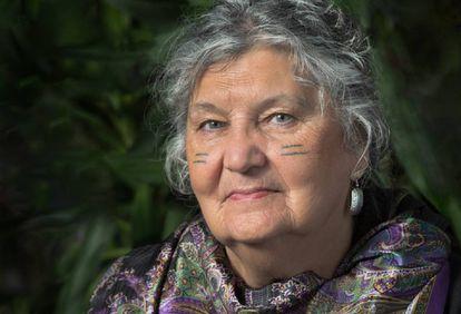 La escritora Maria Campbell.