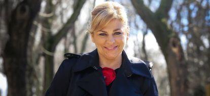 La 'número dos' del PSOE y candidata a las elecciones europeas, Elena Valenciano.