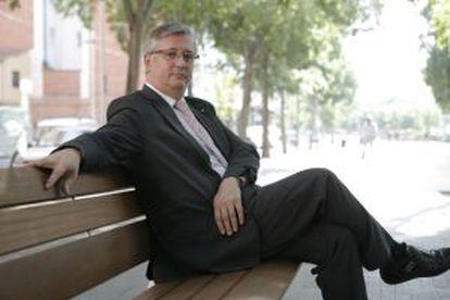 El secretario general de prisiones de la Generalitat, Xavier Martorell.
