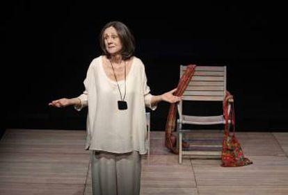 Jeaninne Mestre, en un pase de la obra de Didion.