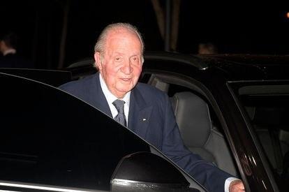 Juan Carlos I, el pasado mes de febrero en Madrid.