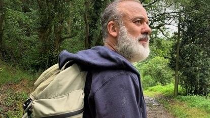 Javier Gutiérrez en su papel más auténtico, peregrino en Asturias