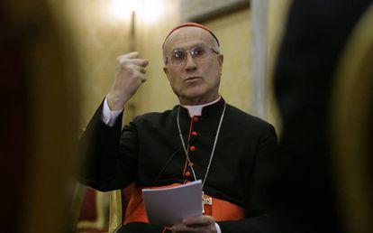 El cardenal Tarcisio Bertone, exsecretario de Estado del Vaticano.