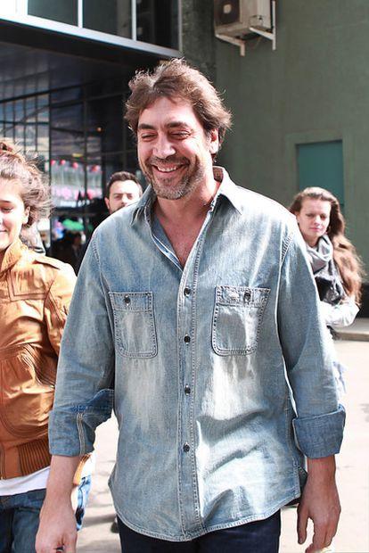 El actor Javier Bardem, el pasado mayo en Moscú.