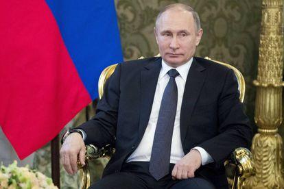 El presidente ruso, Vladimir Putin, el pasado 5 de abril de 2017.