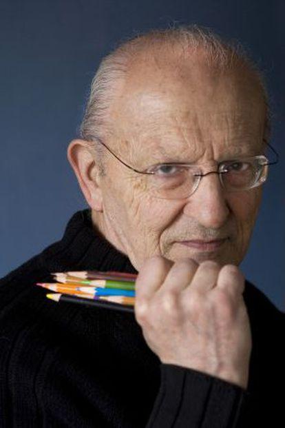 El dibujante Moebius, en 2008.