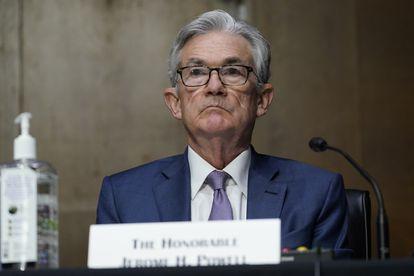 Jerome Powell, presidente de la Reserva Federal, en el Capitolio en diciembre pasado.