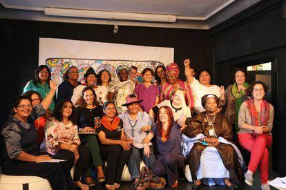 Reunión de mujeres de tres continentes en el proyecto Avanzadoras de Oxfam Intermón