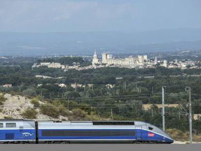 Un TGV fabricado por Alstom.