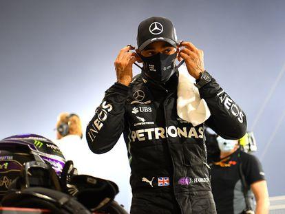 El piloto británico Lewis Hamilton, un año más con Mercedes.
