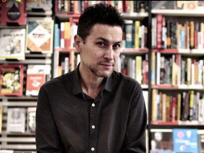 Rodrigo Cortés, en la librería Ocho y medio.