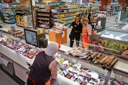 Trabajadores de Consum en una imagen de archivo.