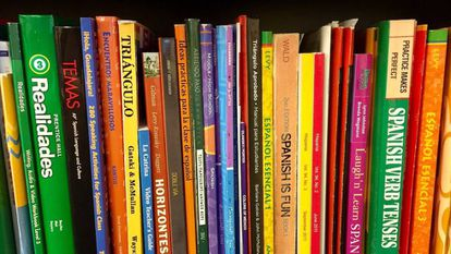 Libros de texto de enseñanza del español.