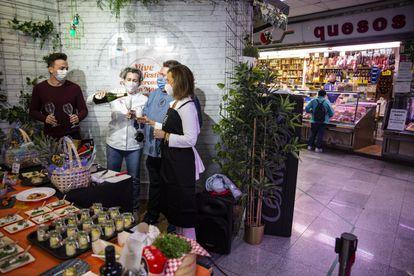 Presentación del Gastrofestival en el mercado de Antón Martín.