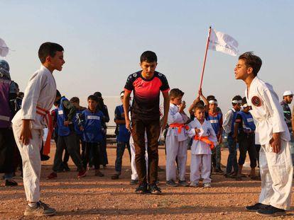 Unos juegos olímpicos para escapar de la guerra de Siria