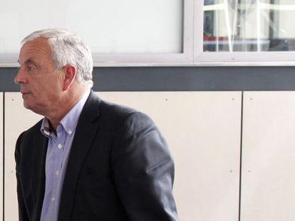 Pachi Vázquez, a su salida de la Ejecutiva del PSOE.