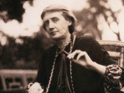 Virginia Woolf en junio de 1926.