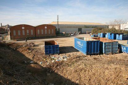 Terrenos donde se iba a levantar la mezquita de Lleida.