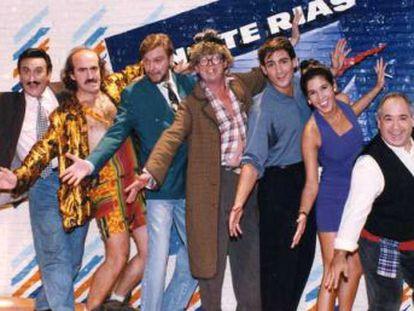El conflicto entre el chabacano humor de los noventa y el de ahora alimenta la nueva serie 'El último show' y subraya lo perecedero de la comedia