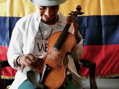 Wuilly Arteaga: un violín torturado contra Maduro