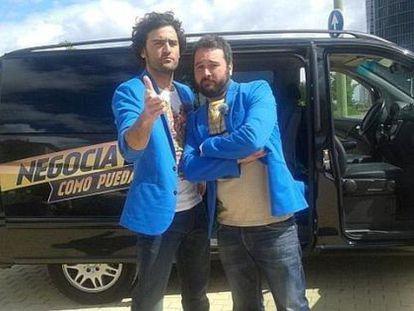 Miguel Martín y Raúl Gómez, al frente de un concurso callejero de Cuatro