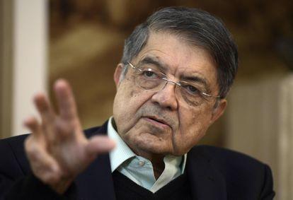 El escritor Sergio Ramírez en una imagen de abril de 2019.