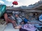 Migrantes Desahuciados Sistema Acogida Humanitaria Canarias. © Javier Bauluz