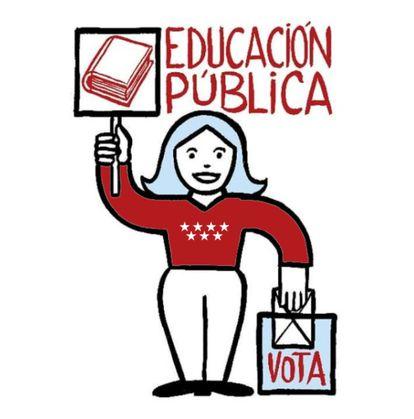 Cartel de la plataforma Vota Por Favor.