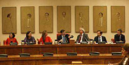 Sesión de constitución de la Comisión para la Evaluación y Modernización del Estado Autonómico.