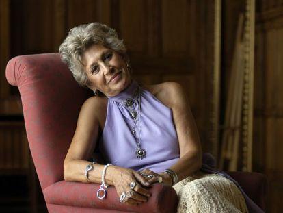 Pilar Bardem, durante una entrevista con EL PAÍS.