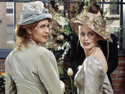 Fotograma del episodio de 'Friends' en el que dos mujeres se casan, emitido en enero de 1996.