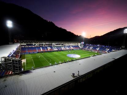 Vista del estadio de Ipurua