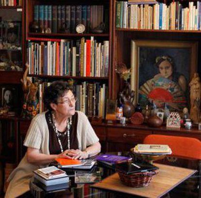 La Premio Nacional de Poesía 2011, Francisca Aguirre, en una foto de archivo