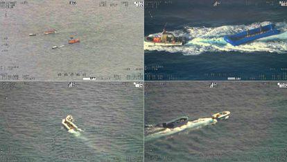Traficantes de migrantes en el Mediterráneo recuperan barcazas vacías para reutilizarlas en nuevas salidas desde las costas libias.
