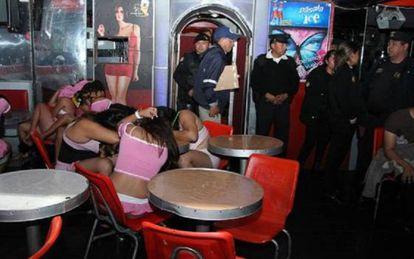 Prostitutas guatemaltecas víctimas de la trata de personas.